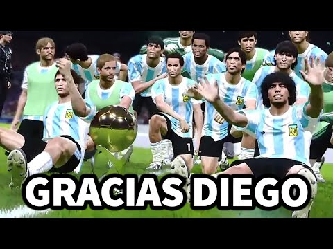Gracias Diego #Retrofútboldeiker