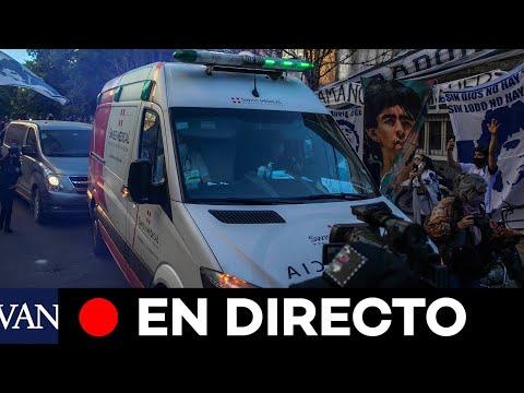 DIRECTO: Maradona se recupera en el hospital de Olivos tras ser operado de un hematoma subdural