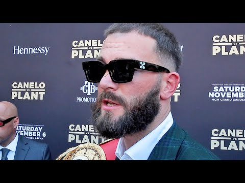 CALEB PLANT REVEALS ADVICE ANDRE WARD GAVE HIM FOR CANELO FIGHT; TALKS VULNERABLE CANELO
