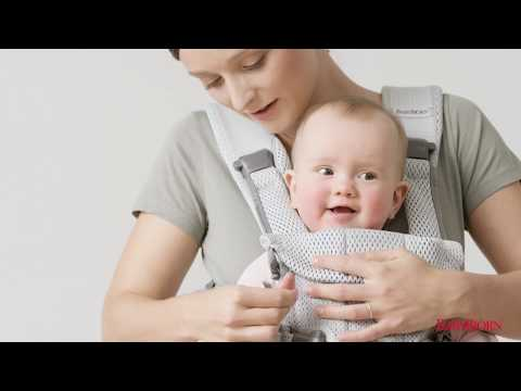 BABYBJÖRN - How to use the facing-out position on Baby Carrier One