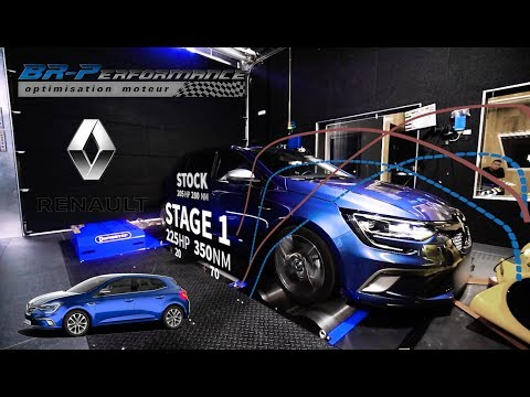 RENAULT Megane 4 GT 1.6 TCe 205Hp Remap Stage 1 By BR-Performance