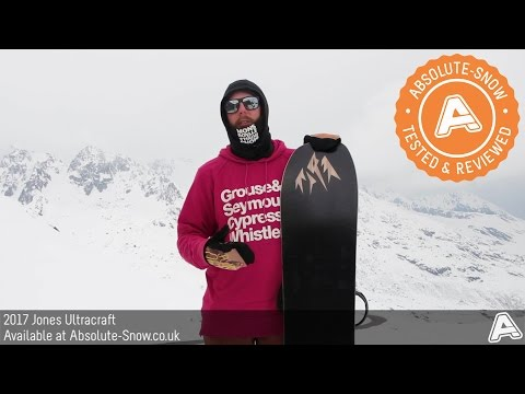 2016 / 2017 | Jones Ultracraft Snowboard | Video Review