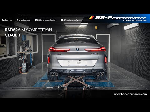 2020 BMW X6 M Competition / Stage 1 By BR-Performance