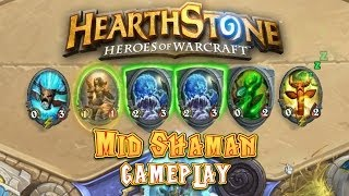 Hearthstone Gameplay: Mid Shaman (Kychu)