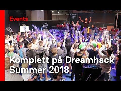 Komplettstand på Dreamhack Summer 2018