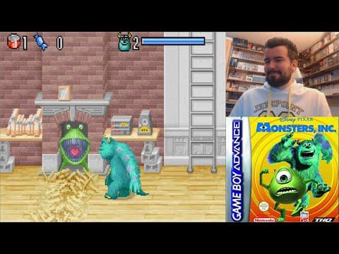 MONSTRUOS S.A. (Game Boy Advance) - Gameplay en Español    MORRALLA CLÁSICA Monsters Inc.