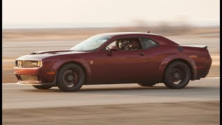 2018 Dodge Challenger Hellcat Widebody – (Track) One Take