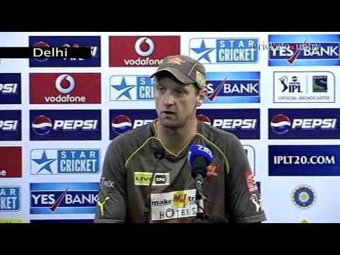 IPL 2013: Cameron White lauds Sunrisers Hyderabad's performance despite eliminator loss