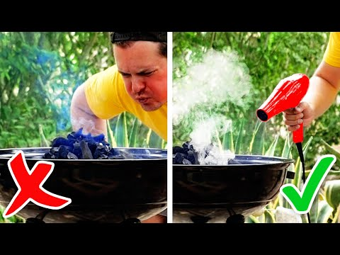 36 Ingenious BBQ Hacks