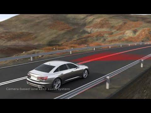 Adaptiv kørselsassistent i Audi A6
