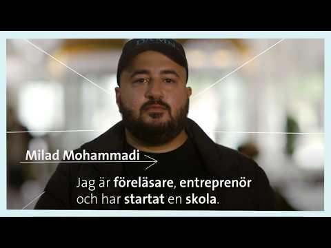 Forskardagarna 2018 - Möt Milad Mohammadi