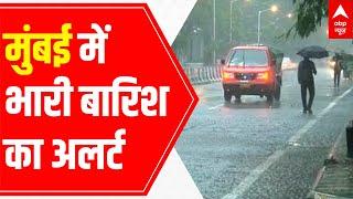 Mumbai Monsoon: Heavy downpour backslashu0026 water-logged roads   Ground Report from Worli - ABPNEWSTV