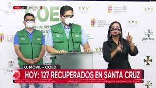 Santa Cruz reporta 25 nuevos casos de coronavirus, 16 fallecidos y 127 recuperados este domingo