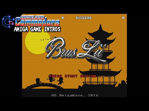 Amiga Game Intro: Brus Lii (Amiga Wave, 2016)