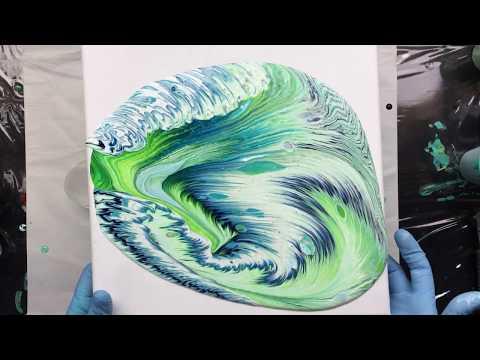 ( 749 ) Very suprising acrylic pour