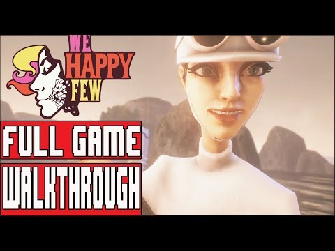 WE HAPPY FEW Gameplay Walkthrough Part 1 (Sally) - No Commentary (Full Release)