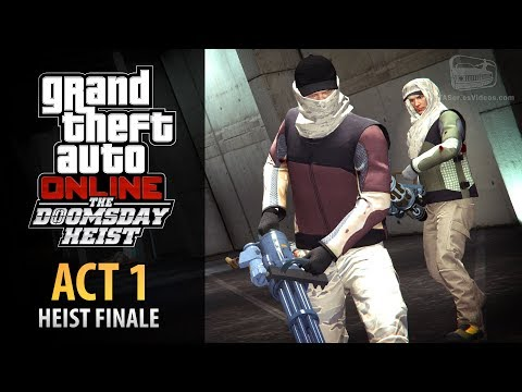GTA Online: Doomsday Heist Act #1 - The Data Breaches Finale (Elite & Mastermind II)