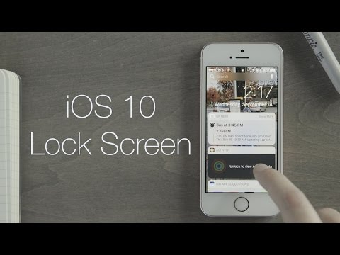 Macworld's Quick Look: iOS 10 lock screen