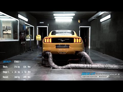 Ford Mustang 2.3 Ecoboost with catback Milltek by BR-Performance