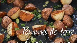 Recettes de cuisine : Allrecipes France Pommes de terre au four au romarin en vidéo