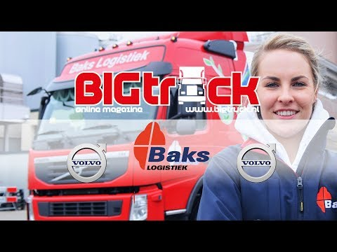 Elke Yland rijdt voor Baks Logistiek