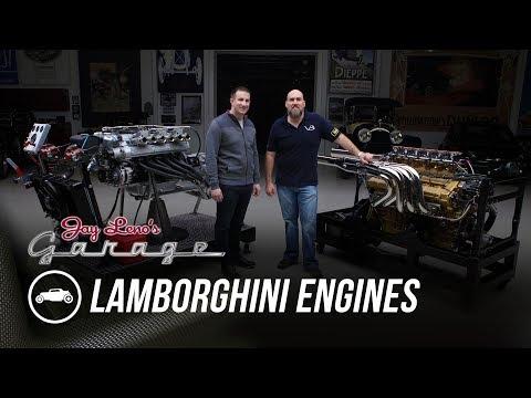 Lamborghini Engines: 350 GT and 8 Liter Marine - Jay Leno's Garage