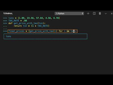 Benefits of Creating List Comprehensions in Python