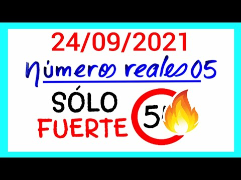 NÚMEROS PARA HOY 24/09/21 DE SEPTIEMBRE PARA TODAS LAS LOTERÍAS...!! Números reales 05 para hoy...!!