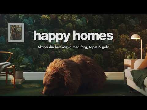 Happy Homes reklamfilm 90s