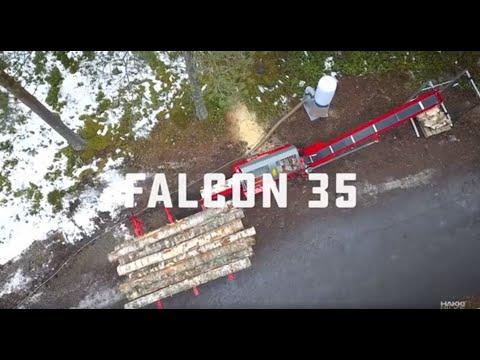 Hakki Pilke Vedmaskin Falcon 35