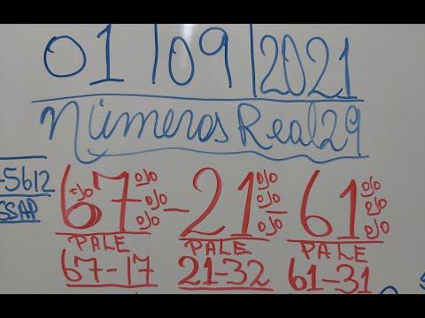 NUMEROS PARA HOY 01/09/21 DE SEPTIEMBRE PARA TODAS LAS LOTERIAS