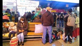 No sale ni a La Paz ni a Oruro. ¡Atención bloqueos en Parotani!