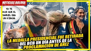 ???? CRÓNICAS DE UNA AUTO PROCLAMACIÓN PRESIDENCIAL A LA BOLIVIANA ????