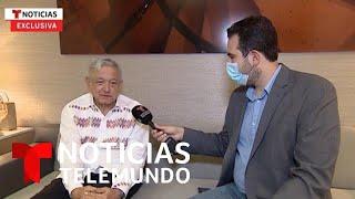 """AMLO dice que su """"amigo"""" Trump """"ha cambiado su trato"""" a los mexicanos, pero no lo invita a México"""