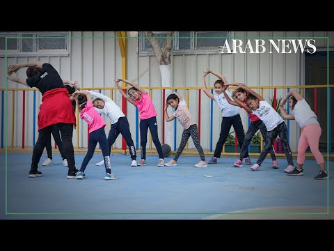Young Libyans join first sports academy for girls in war-torn country