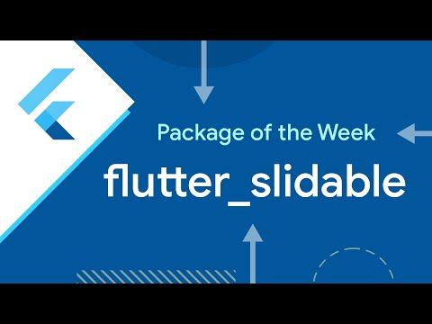 flutter_slidable (Package of the Week)