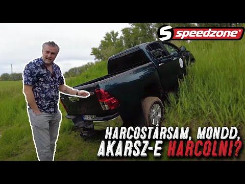 Speedzone használtteszt:Toyota Hilux 2.4 D-4D Active (2018): Harcostársam, mondd, akarsz-e harcolni?