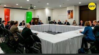 Embajadores que tienen connacionales en crucero Diamond Princess entablan reunión