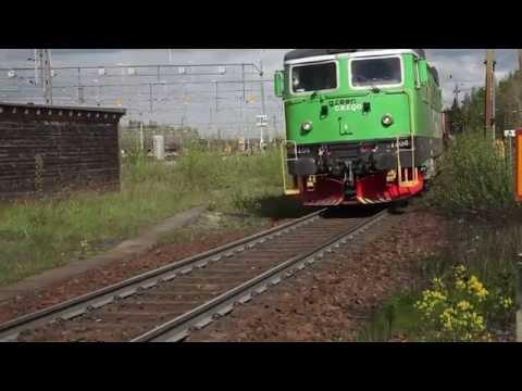 Green Cargo: Transporter på järnväg
