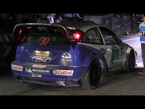 Rally Legend 2017: Friday Night Action – Starts, Anti-Lag, Flames  Sounds!