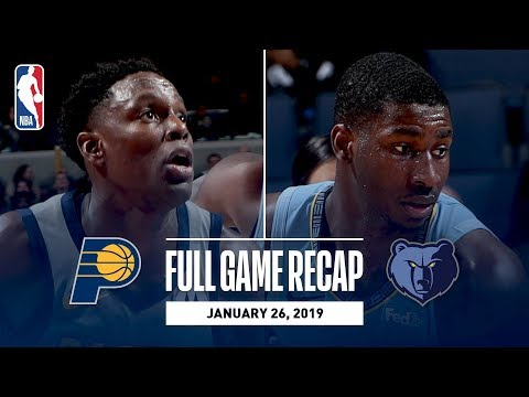 Full Game Recap: Pacers vs Grizzlies | Conley Leads MEM
