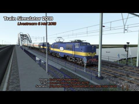 Koplopermau Gasketeltrein van Sloe naar Venlo Livestream 06052018