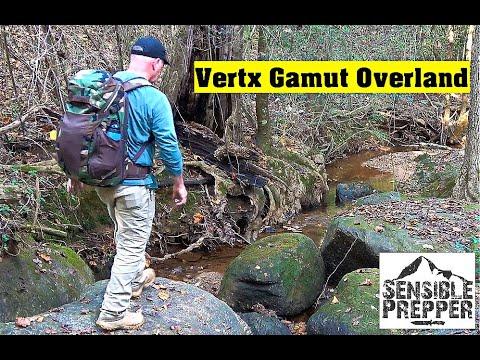 Vertx Gamut Overland  Do Everything Backpack