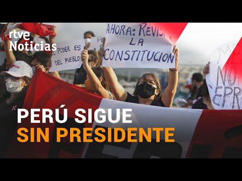El CONGRESO PERUANO rechaza como PRESIDENTA a la candidata ROCÍO SILVA SANTISTEBAN | RTVE Noticias