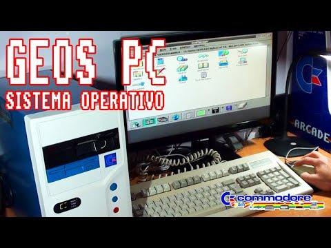 Sistema operativo GEOS para PC (Demo real sobre PC 486)