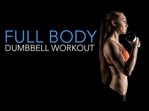 FULL BODY Strength Training Workout (WITH DUMBBELLS ONLY!!)