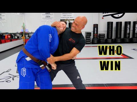 Wing Chun vs BJJ Brazilian Jiu jitsu
