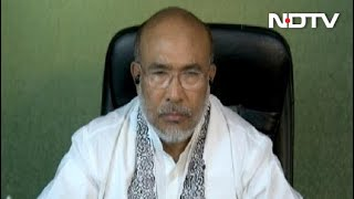 "Manipur Chief Minister's ""Big Worry"" Amid The Coronavirus Crisis - NDTV"