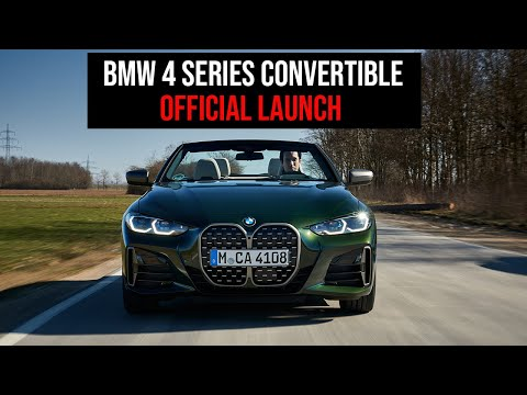 New BMW 4 Series Convertible - Official Launch From Munich