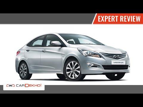 Hyundai 4S Fluidic Verna 1.6 Diesel   Expert Review   CarDekho.com